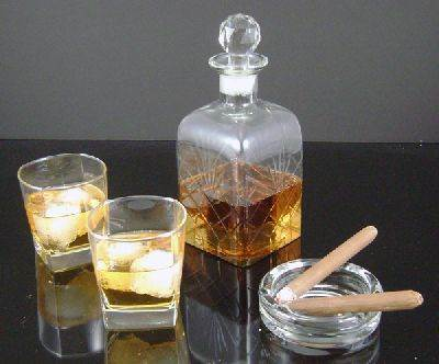 Whiskey and Cigar Set #1