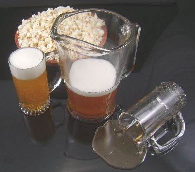 Beer and Popcorn Assortment #2