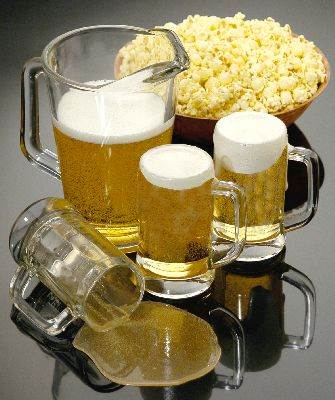 Beer and Popcorn Assortment #3