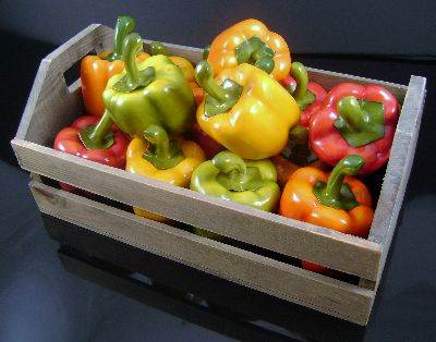 Bell Peppers Crate