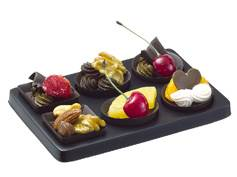 Chocolate & Fruit Magnets