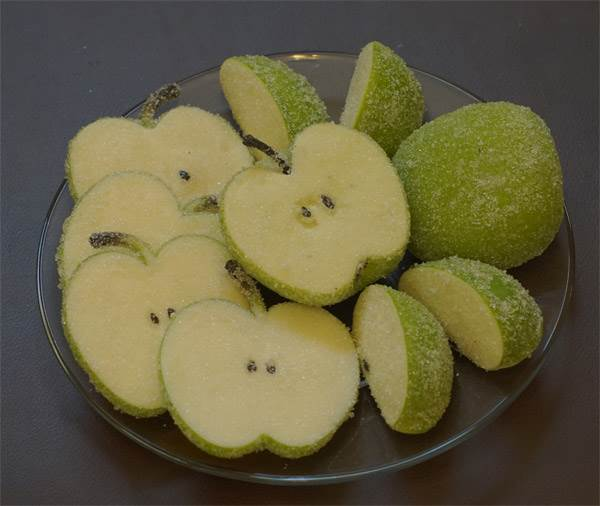 Apples Sugared (Green)