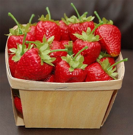 Basket, Strawberry