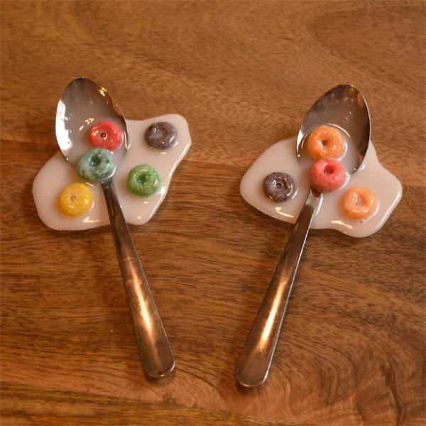 Spilled Cereal Spoons