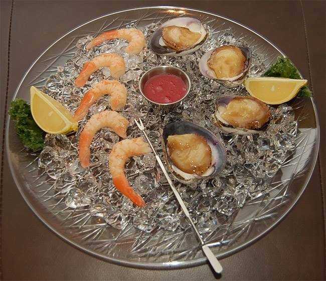Clam & Shrimp Platter