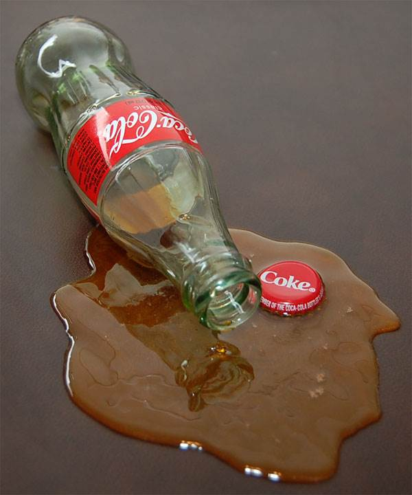 Coke Bottle Spill