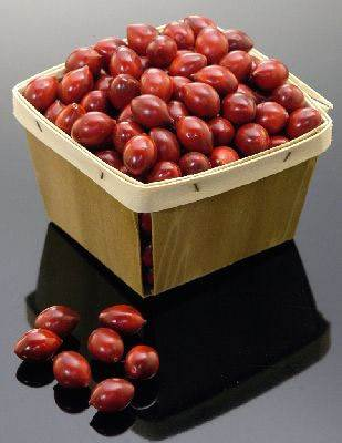 Basket (Cranberry)