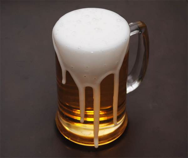 Beer (Mug) (Foaming Over)