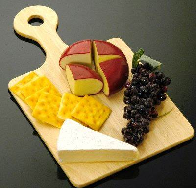 Fruit & Cheese Board #1