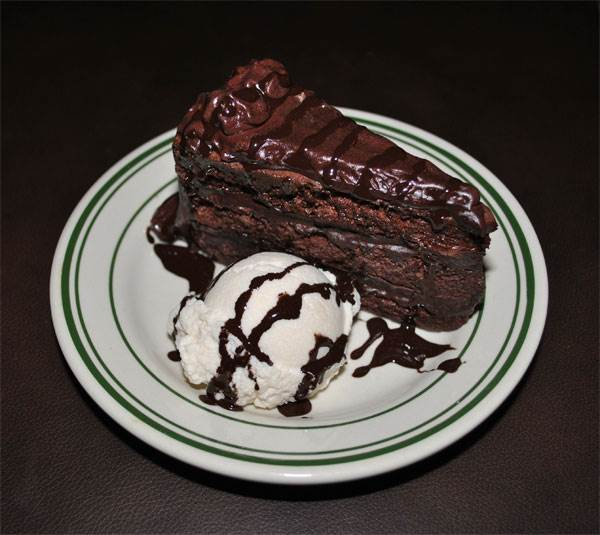 Chocolate Cake & Ice Cream