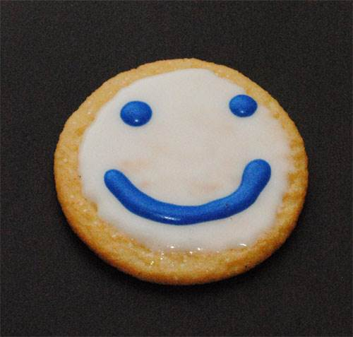 Smiley Face Cookie