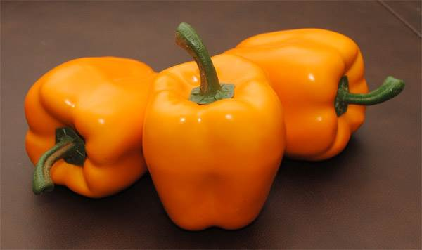 Bell Peppers (Orange) - Click Image to Close