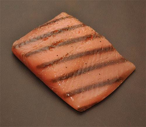 Salmon Steak (Grilled)