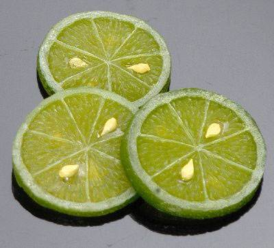 Lime (Slices) - Click Image to Close