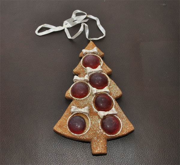 Ornament - Cookie Tree (Red)