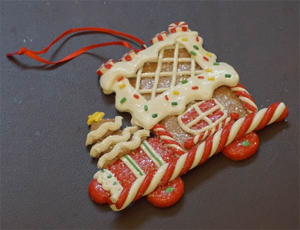Ornament - Gingerbread Cookie #1 - Click Image to Close