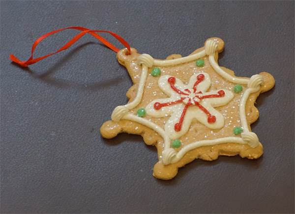 Ornament - Gingerbread Cookie #2