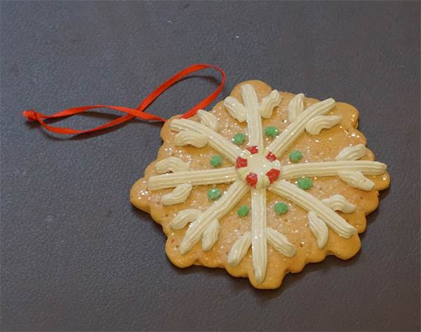 Ornament - Gingerbread Cookie #3
