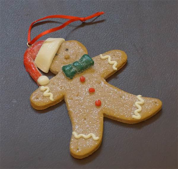 Ornament - Gingerbread Man #1