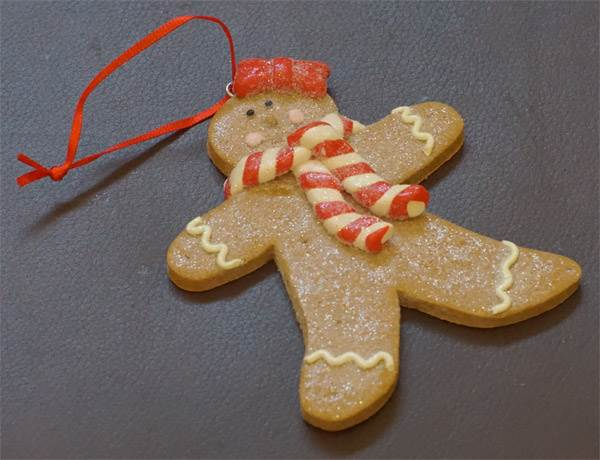 Ornament - Gingerbread Man #2