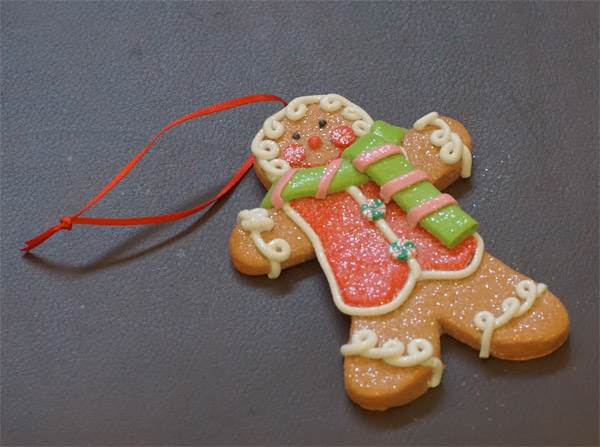Ornament - Gingerbread Man #3