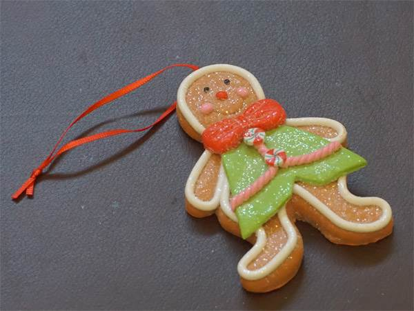 Ornament - Gingerbread Man #4