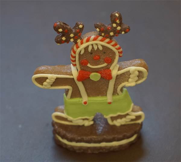 Ornament - Standing Gingerbread Man #1