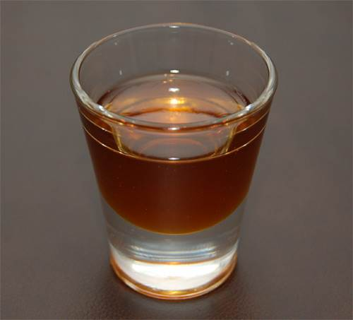 Shot of Brandy