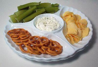 Snack Food & Dip Tray