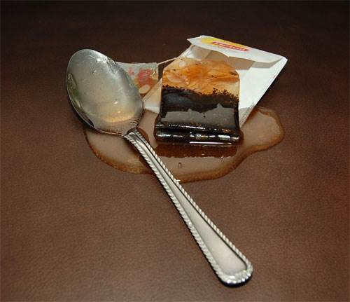Tea Bag and Spoon