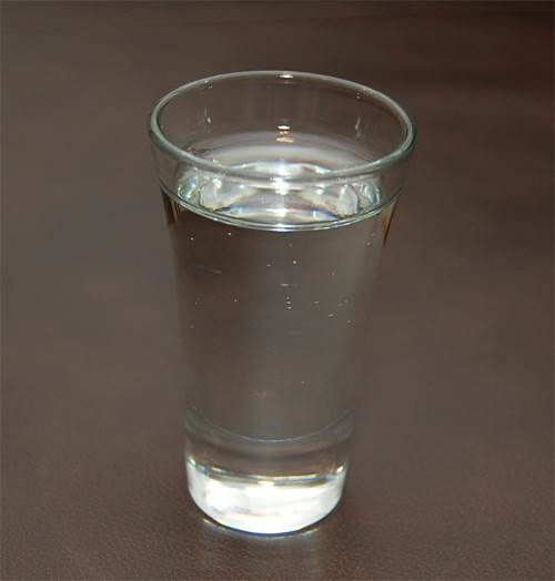 Shot of Vodka